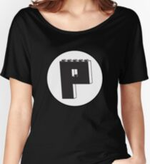 THE LETTER P Women's Relaxed Fit T-Shirt