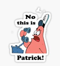 This is Patrick Sticker