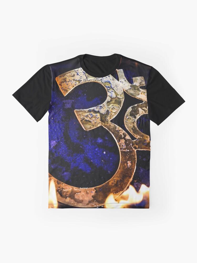 Alternate view of Aum Graphic T-Shirt