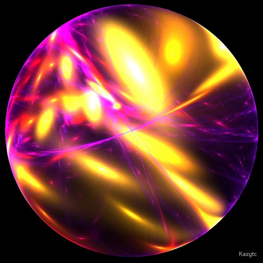 Neon Lightening Orb by Kazytc