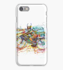 Bulls Biker iPhone Case/Skin