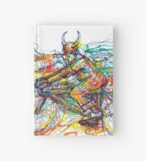 Bulls Biker Hardcover Journal