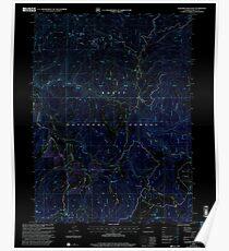 USGS TOPO Map Colorado CO Elkhorn Mountain 232941 2000 24000 Inverted Poster