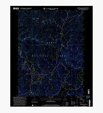 USGS TOPO Map Colorado CO Elkhorn Mountain 232941 2000 24000 Inverted Photographic Print