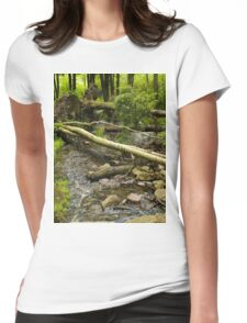 Across the Creek Womens Fitted T-Shirt
