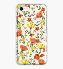Colorful Garden Pattern iPhone Case/Skin