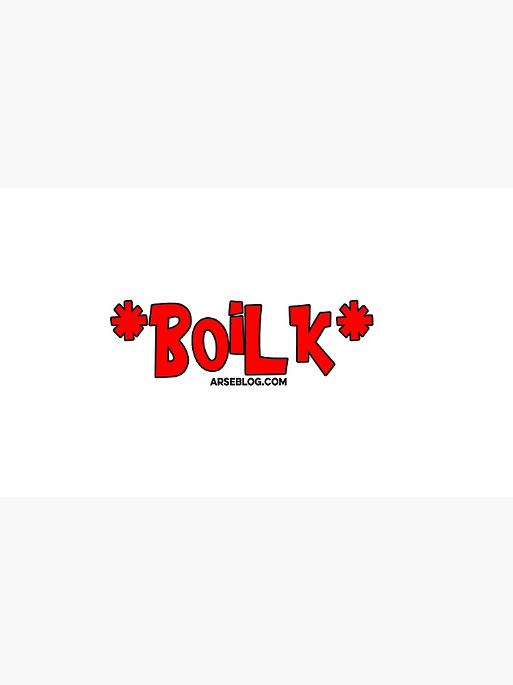 Boilk mug by arseblog