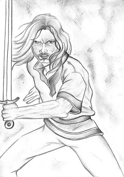 Comic Sketch 5 by vivianne