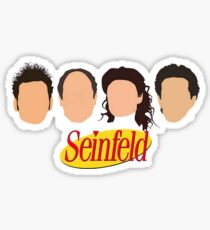 Seinfeld Characters Sticker