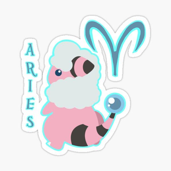 Aries: The Flaaffy Sticker