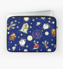 Beauty and the Beast pattern Laptop Sleeve