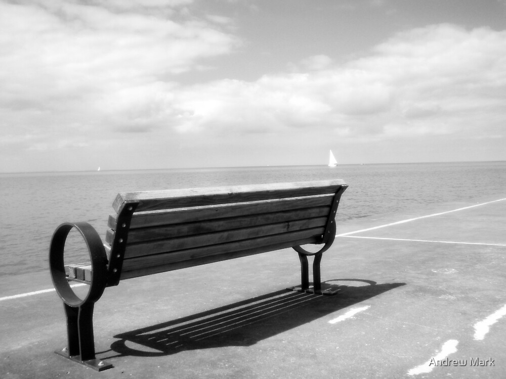 Pier Bench by Andrew Mark