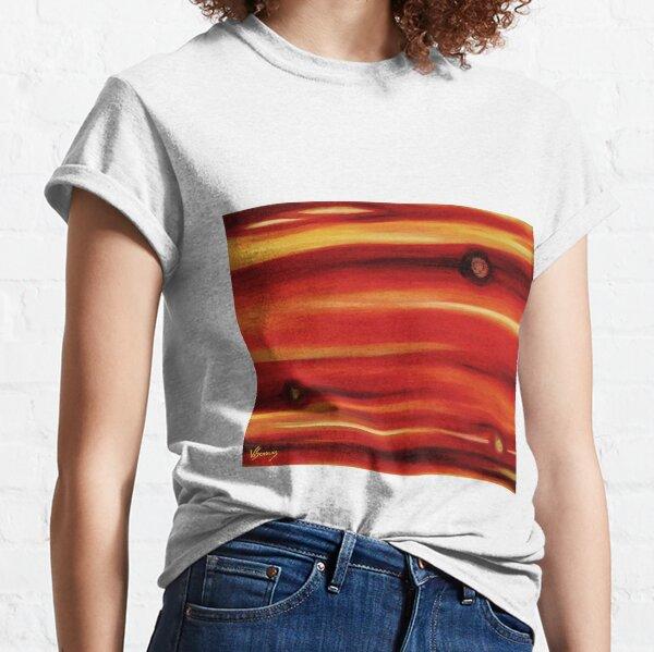 Untitled Orange No1. (Oils 40 x 50cm) Classic T-Shirt