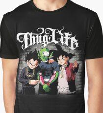 Thug life Goku, piccolo, Vegeta Graphic T-Shirt