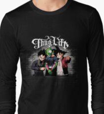 Camiseta de manga larga Thug life Goku, piccolo, Vegeta