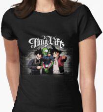 Thug Leben Goku, Piccolo, Vegeta Tailliertes T-Shirt