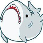 Derpy Great White Shark by neekko