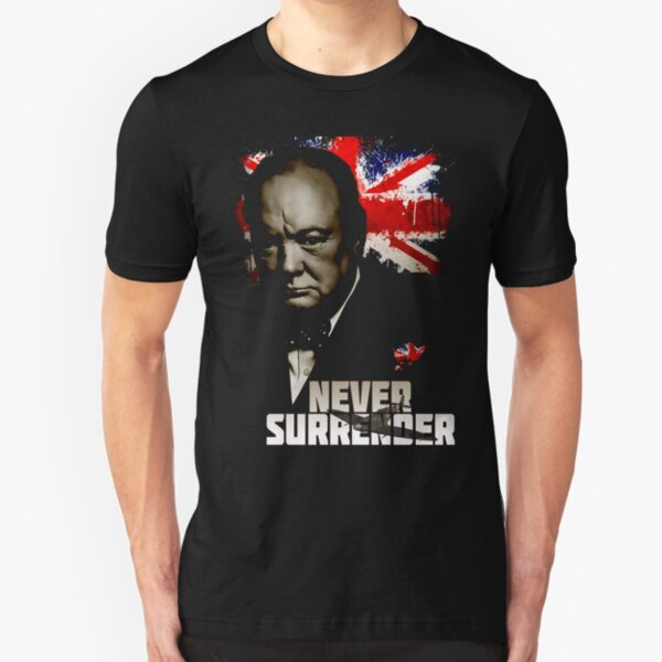Allied Nations - Winston Churchill Slim Fit T-Shirt