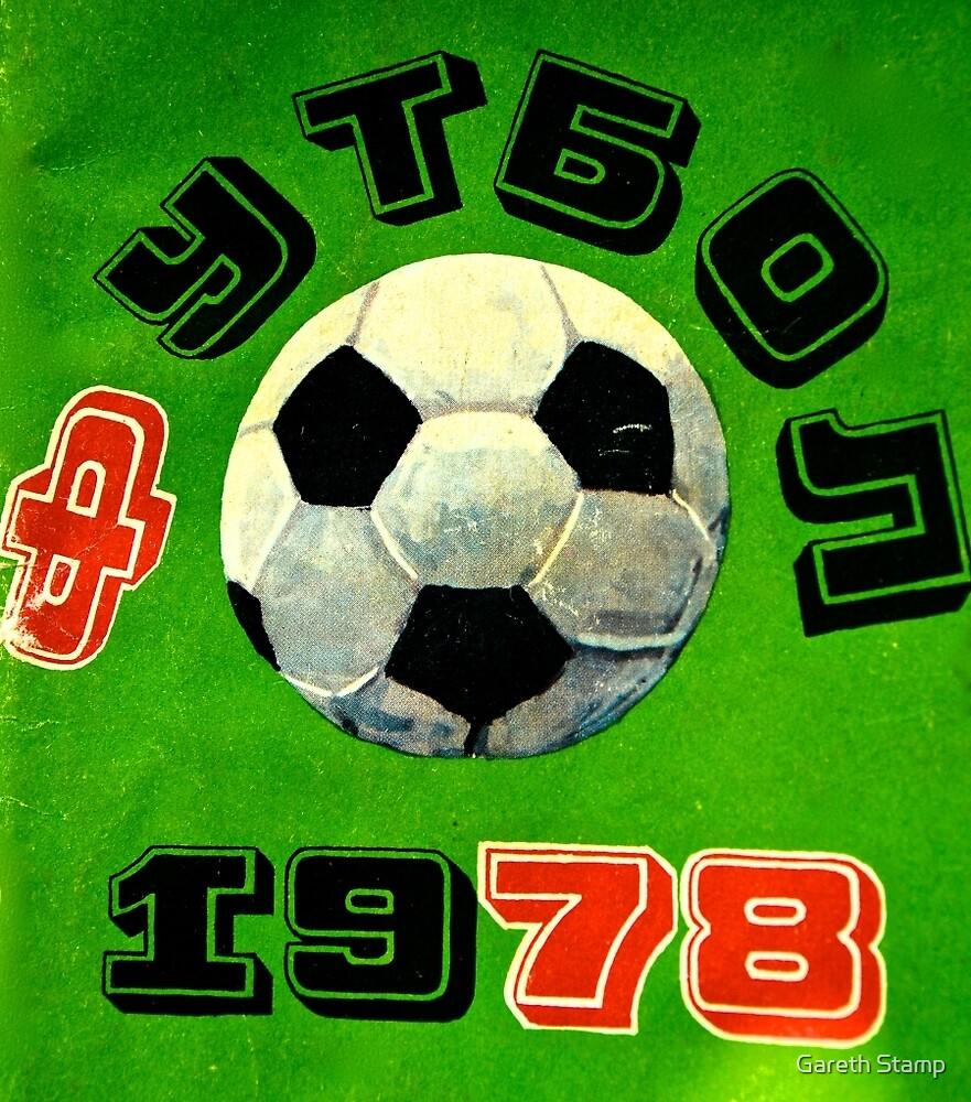 1978 soviet retro football by Gareth Stamp
