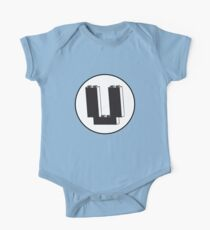 THE LETTER U One Piece - Short Sleeve