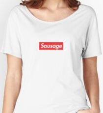 Sausage Women's Relaxed Fit T-Shirt