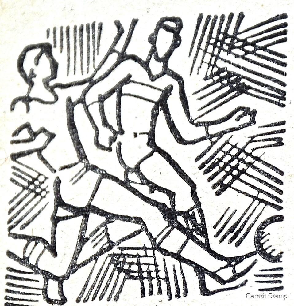 retro football soviet  by Gareth Stamp