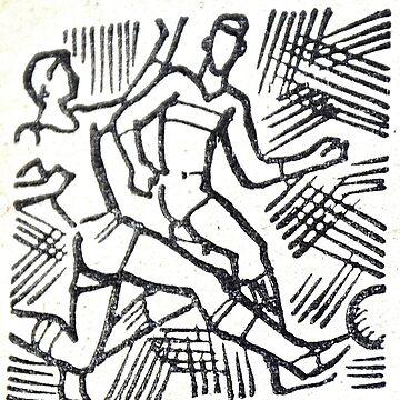 retro football soviet  by garethstamp