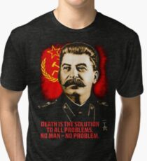 Allied Nations - Joseph Stalin Tri-blend T-Shirt