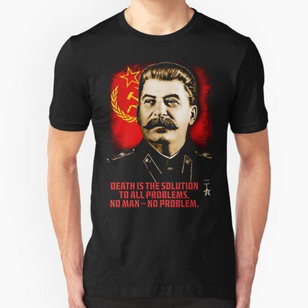Allied Nations - Joseph Stalin Slim Fit T-Shirt