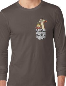 Calvin and Hobbes Pocket Long Sleeve T-Shirt