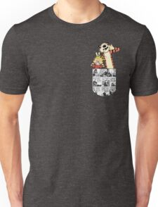 Calvin and Hobbes Pocket Unisex T-Shirt