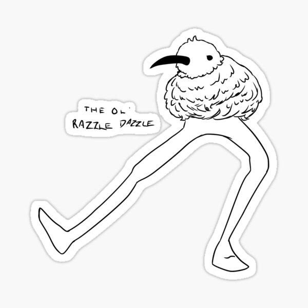 Oiseau Kiwi Sticker