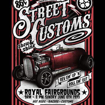 Classic Car - Street Customs by ByStreetDesigns
