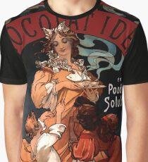 "Alphonse Mucha Vintage Advertisement ""Chocolat Ideal"" Graphic T-Shirt"