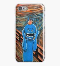 Mr. Meeseeks The Scream iPhone Case/Skin