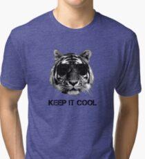 Keep it cool tiger Tri-blend T-Shirt