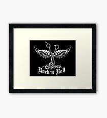 shear Wings Framed Print