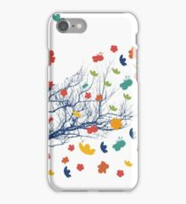 Paper blossom tree iPhone Case/Skin