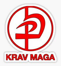 KRAV MAGA logo Pegatina