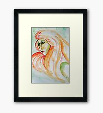 anger Framed Print