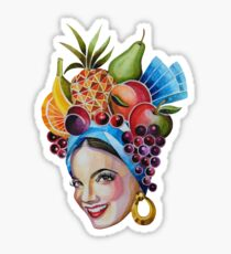 Carmen Miranda Sticker