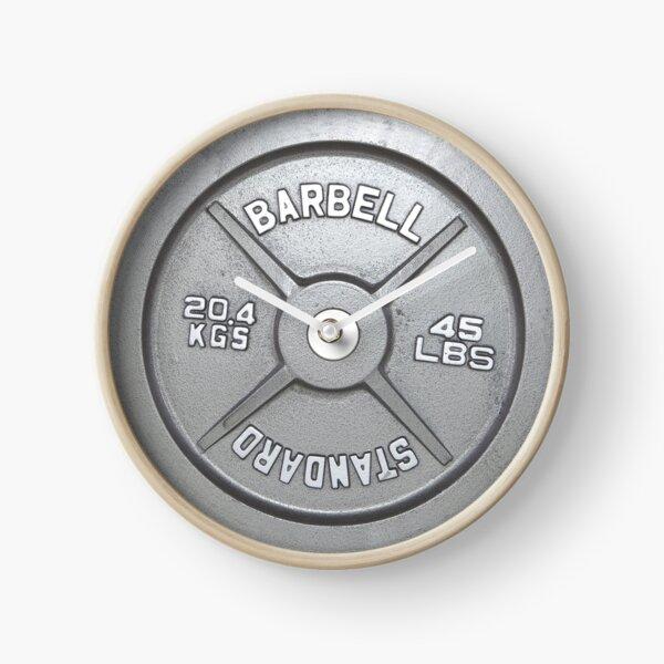 Barbell Plate Clock