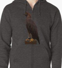 Golden Eagle Zipped Hoodie