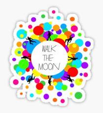 Walk the Moon Bubble Sticker
