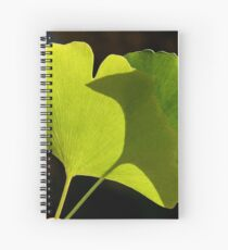 green pair Spiral Notebook