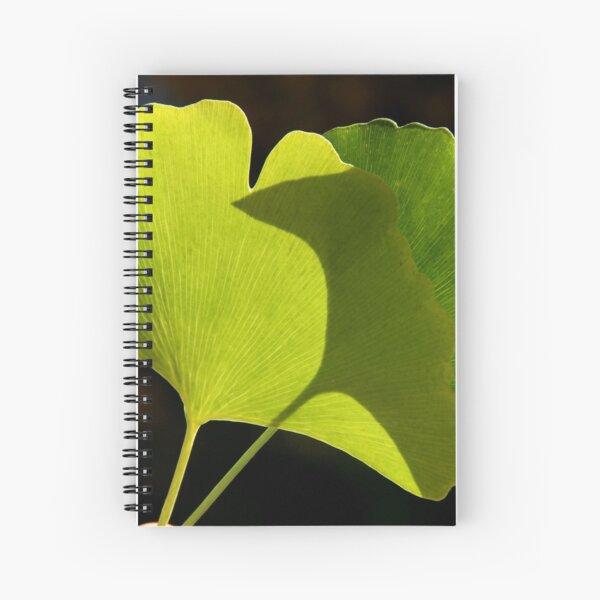 green pair Spiral Notebook