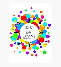 Walk the Moon Bubble Photographic Print