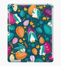 Busy Easter Bunnies 1 iPad Case/Skin
