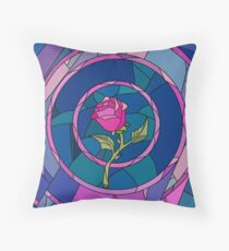 Rose (The beauty and the beast) Throw Pillow