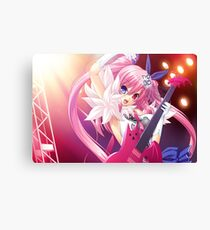 anime rock girl Canvas Print
